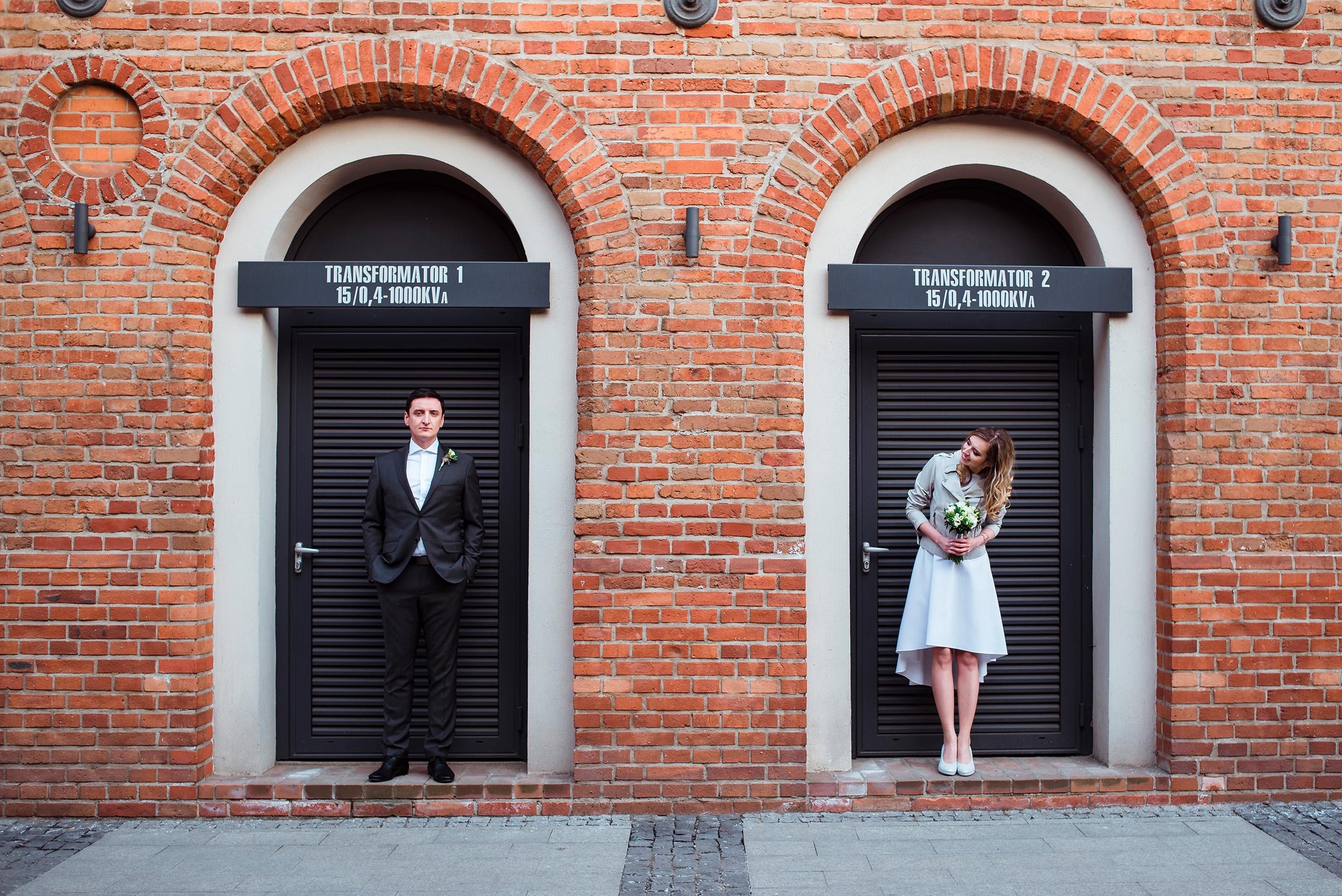 slub w fabryce welny - wesele w stylu industrialnym