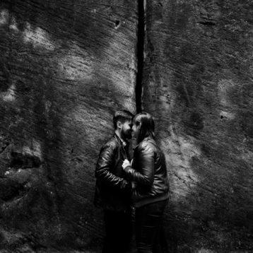 Ewa i Bartek  – sesja narzeczeńska w Skalnym Mieście