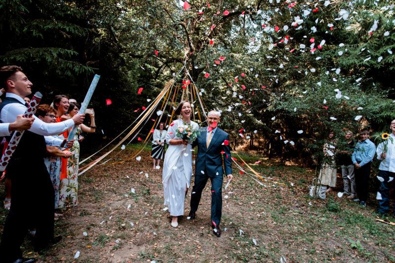 slub plenerowy w lesie - przyborowo 11 - slow wedding