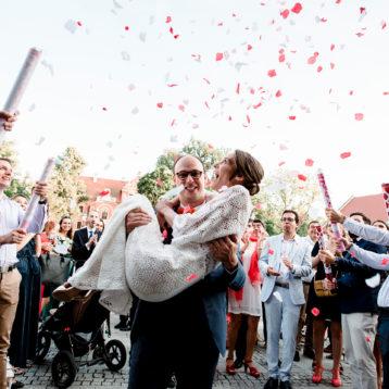Anna i Etienne – polsko-francuski ślub w Pałacu Krotoszyce