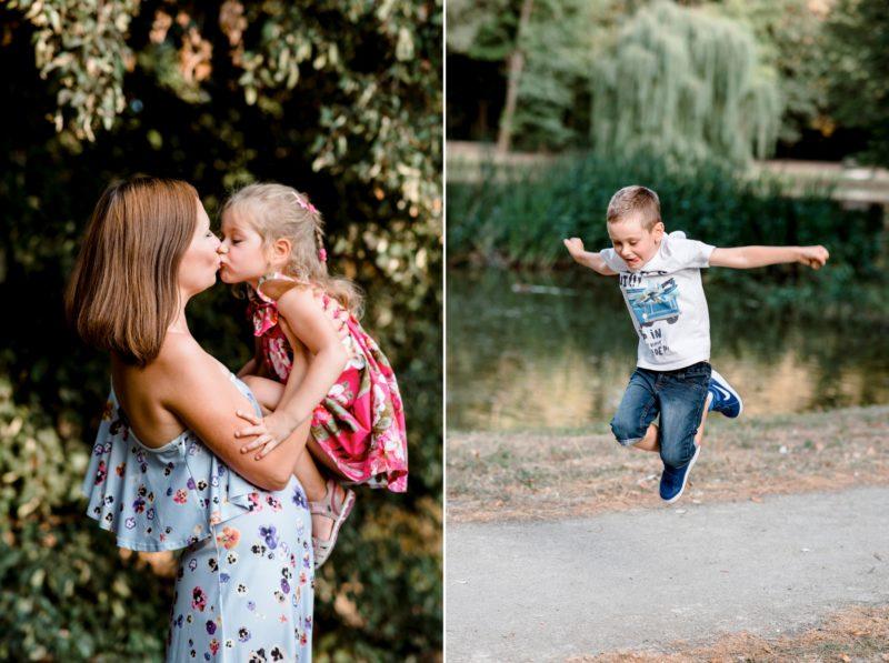 sesja rodzinna w parku - naturalna sesja rodzinna wrocław