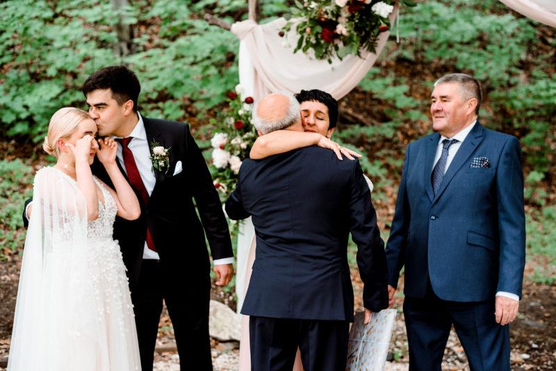 fotoreportaz slubny - wesele w starej kruszarni - podziekowania rodzicom