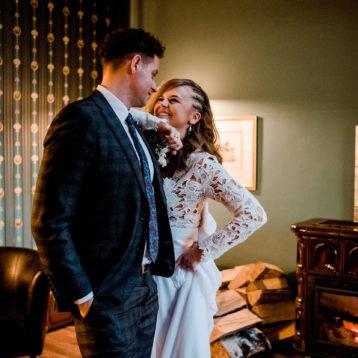 Ania i Wojtek – marcowe wesele w Dworze Korona Karkonoszy